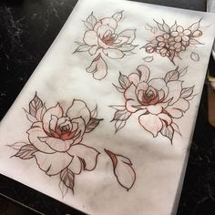 I have time for a couple of hand/palm sized tattoos tomorrow and thursday. I'd love to tattoo these flowers !! #tat #tattoo #tattoos #tattoosketch #tattoodesign #ink #inked #perth #wa #australia #art #drawing #sketch #flash #tattooflash #neotraditional #neotrad #neotradsub #inkmaster #thebesttattooartists #apprentice #supportgoodtattooers #japanesetattoosub #tattooistartmag