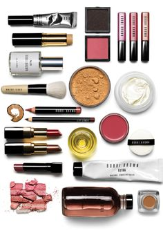 Bobbi Brown make-up products and tools Pretty Eye Makeup, Pretty Eyes, Love Makeup, Beauty Makeup, Beauty Tips, Beauty Hacks, Hair Beauty, Serge Gainsbourg, Kiss Makeup