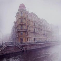 Saint Petersburg... mystical in the mist.