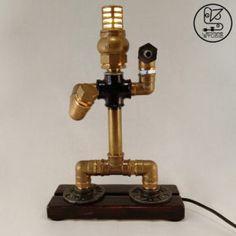 G4 Led, Brass Pipe, Iron Pipe, Custom Wood, Freeze, Police, Chrome, Bulb, Studio
