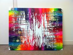 crayon melting art   Tumblr