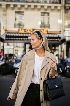 Style Inspiration: Trench coats outfits for spring - Street Style - Simple Fall Outfits, Spring Outfits, Winter Outfits, Outfit Summer, Holiday Outfits, Look Fashion, Fashion Models, Autumn Fashion, Fashion Trends