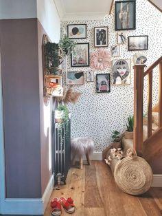 A beautiful small light pink juju hat Large Round Mirror, Round Mirrors, Juju Hat, Vintage Lanterns, Dark Interiors, Home Additions, Bright Pink, Boho Decor, Interior Inspiration