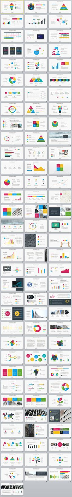 100+ ultimate infographics creative PowerPoint templates
