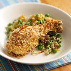 Crispy Coconut Chicken (via Parents.com)