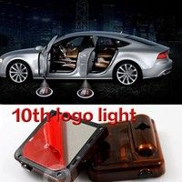 Decorative Lamp 1pcs Wireless Car Door Welcome Lights Ghost Shadow Light For Bmw Audi Hyundai Ford Toyota Lexus Mazda Logo Projector Led Lamp To Be Distributed All Over The World