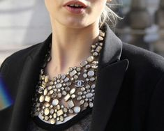 Chanel. Statement necklace.