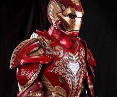 Asgardian Iron Man Anzug