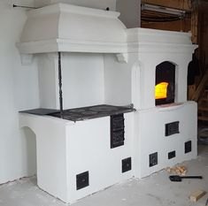 Brick Masonry, Stove, Cool Designs, Sweet Home, Farmhouse, Cottage, Interior Design, Wood, Kitchen