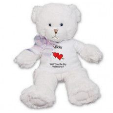 Will You Be My Valentine Teddy Bear 14 Inch This Valentine S Day Will Be One To Always Remember When You A Teddy Bear Teddy Bears Valentines Teddy Bear Plush