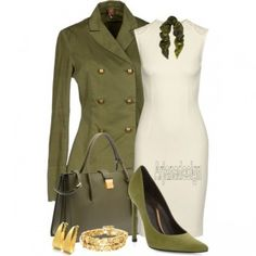 Military Outfits with Christopher Kane Grid Floral modal and cashmere-blend scarf