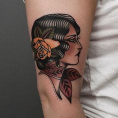 ad753de391862 Tony Nilsson (@tonybluearms) • Instagram photos and videos Traditional  Tattoo Woman Face,