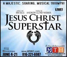 "Advertisement for ""Jesus Christ Superstar"" live on stage Jesus Christ Superstar Live, Musicals, Stage, Advertising, Musical Theatre"