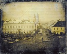 The oldest photo of Budapest, Hungary ca. History Images, Art Corner, Budapest Hungary, Historical Pictures, City Streets, Pictures Images, Old Photos, Picture Photo, Paris Skyline