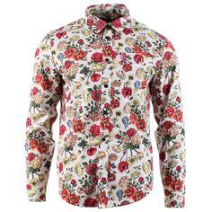 Tropical Print Cotton Shirt   21 MEN #SummerForever #21Men   MEN'S ...