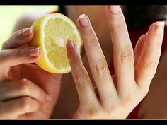 Hacer Crecer las Uñas Super Rapido Con Ajo y Limón - YouTube