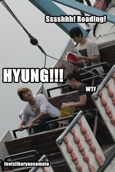 Eunhyuk is so funny!