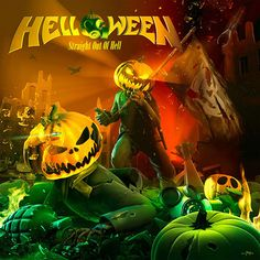 Straight Out of Hell: 2013 release, the studio album from the German Power Metal band. The album, produced by Charlie Bauerfeind, includes the first single 'Nabataea'. Woodstock, Helloween Wallpaper, Power Metal Bands, Tenacious D, Rock Poster, Band Wallpapers, Metal Albums, Live In The Now, Religion