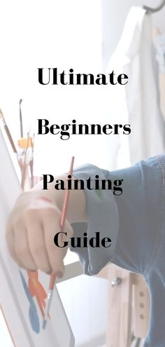 The Ultimate Painting Guide for Beginning Painters. Learn the basics of everything you need to know to start painting right away. Art supplies for beginners. Painting for beginners. How to Paint. Learn how to paint. Oil painting for beginners. Paint brushes for beginners. Ultimate brush guide. Painting guide. Step by step painting. Oil paint colors for beginners. Painting guide for beginners. #oilpainting #howtopaint #learnhowtopaint #oilpaintingguide #paintingguide #ultimatepaintingguide Oil Painting For Beginners, Acrylic Painting Lessons, Beginner Painting, Painting Tips, Painting Tutorials, Painting Art, Picasso Paintings, Great Paintings, Indian Paintings