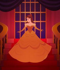 belle of the ball //slaps myself i had to make that pun ok Disney Fan Art, Disney Love, Disney Pixar, Walt Disney, Disney Characters, Animation Film, Disney Animation, Disney Animated Films, Tale As Old As Time