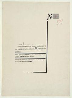 El Lissitzky. Proun. (1919-23)