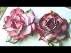 Classic Rose flower by Heartfelt Creations -a video tutorial by Anita Kejriwal - YouTube