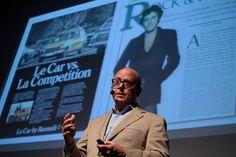 2013 +1T Gazete Tasarım Günleri 1. Gün - Ünlü Tasarımcı Roger Black.