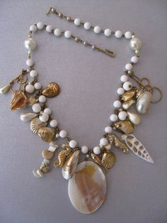 I love necklaces that make a statement. This one is perfect for the summer!