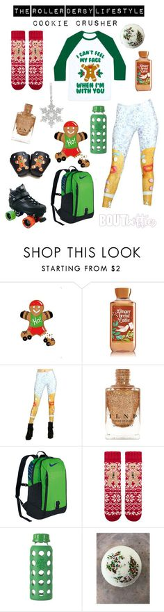 Roller derby fashion | Cookie Crusher by Bout Betties on Polyvore featuring Accessorize, NIKE, Wedgwood