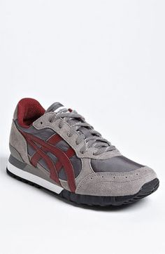 Onitsuka Tiger 'Colorado Eighty-Five' Sneaker (Men) Grey/ Burgundy 8.5 D at ShopStyle