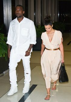 Kim Kardashian and Kanye West - Click for More...