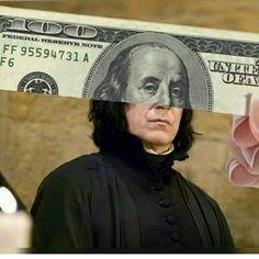 Ben Franklin is Snape : HarryPotterMemes
