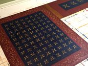 L-Shaped Floorcloth