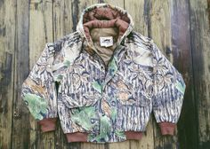 Woodland Camo insulated Hoodie/ Jacket by by ProvenFootbridge, $36.00