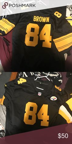 c8a61b6944 Nike Antonio Brown Steelers Jersey Nike Color Rush Steelers Jersey. Antonio  Brown. Never worn