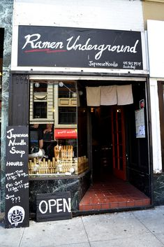 Ramen Underground - SF.