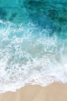 Water, Shore, Sand, Color, White, Foam, Blue, Aqua