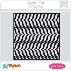 Bracket Mat #pinkpaislee #scrapbooking #DIY