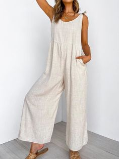 Romper Pattern, Jumpsuit Pattern, Plus Size Jumpsuit, Casual Jumpsuit, Jumpsuits For Women, Beige Jumpsuits, Casual Fall, Boho Outfits, Types Of Sleeves