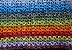 Atelier Marie-Lucienne: The Beginnings of a Blanket - Der Anfang einer Decke!