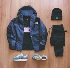 Pin by Brandon the Archivist on Streetwear Outfits in 2019 Dope Outfits For Guys, Swag Outfits Men, Stylish Mens Outfits, Cool Outfits, Urban Outfits, Hype Clothing, Mens Clothing Styles, Hypebeast Outfit, Look Man