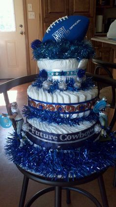 Future Cowboy Diaper Cake