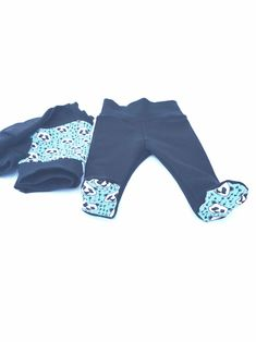Perfect for keeping little toes toasty and warm. So handy for baby wearing too. Handmade Clothes, Baby Wearing, Cosy, Wetsuit, Kids Outfits, Warm, Swimwear, Pants, How To Wear