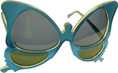 Vintage butterfly sunglasses,  oliver goldsmith
