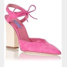 Dee Keller Pink Shoes! Worn Once! Size 7