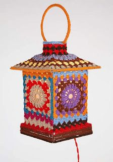 moshino crocheted lamp