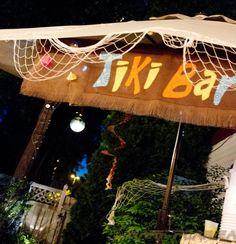 Homemade Tiki Bar Sign