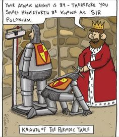 Scott Hilburn - Knights of the Periodic Table