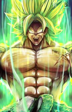 Dragon Ball Z - Super Broly Figure Style 1 Dragon Ball Gt, Dragon Ball Image, Broly Ssj4, Ball Drawing, Anime Sensual, Dragon Images, Z Arts, Anime Sketch, Animes Wallpapers