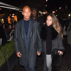 Chloe Green & Jeremy Meeks are seen dining at L'Avenue in Paris